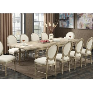 Lewisboro 11 Piece Dining Set by Ophelia & Co.