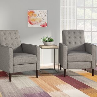 Where buy  Izaiah Manual Recliner (Set of 2) by Langley Street Reviews (2019) & Buyer's Guide