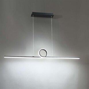 Orren Ellis Fraher 1-Light LED Kitchen Island Pendant