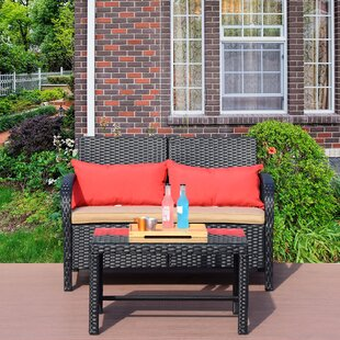 Raylene 6 Piece Rattan Sofa Set