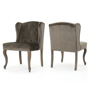 Mercer41 Hollange Wingback Chair (Set of 2)