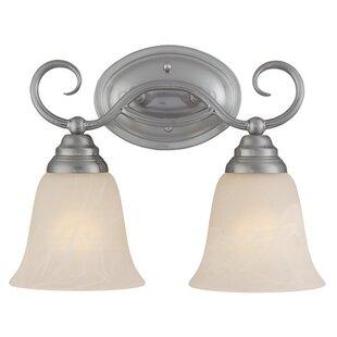 Charlton Home Ellis 2-Light Vanity Light