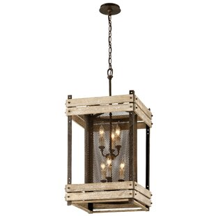 Carrizal 6-Light Lantern Chandelier by Lo..