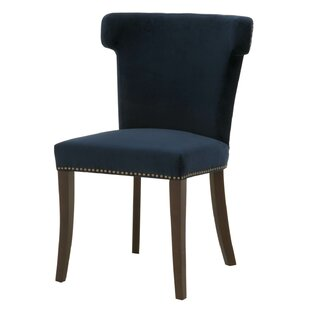 Kivett Upholstered Dining Chair by Everly Quinn Cool
