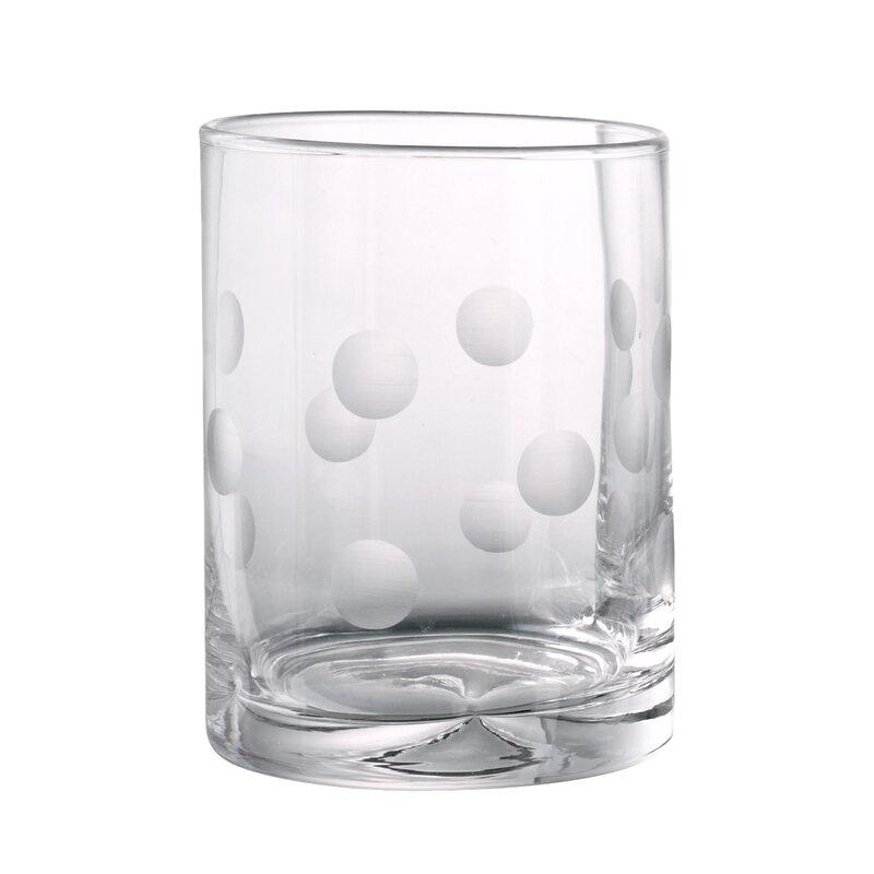 Ivy Bronx Brumit Polka Dot Whiskey Glass Reviews Wayfair