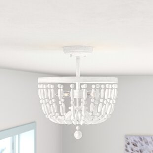 Fuller 2-Light Semi Flush Mount by Mistana