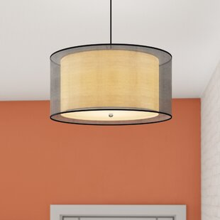 Stoke Bishop 3-Light Semi Flush Mount by Wrought Studio
