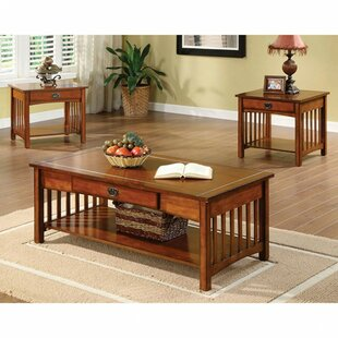 Canora Grey Barberry Elegantly Designed 3 Piece Coffee Table Set