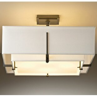 Exos 4-Light Semi Flush Mount ..