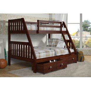 Clearance Belford Twin over Full Bunk Bed with Storage by Harriet Bee Reviews (2019) & Buyer's Guide