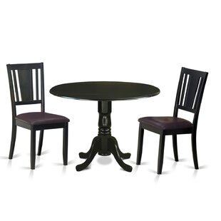 Dublin 3 Piece Dining Set by Wooden Importers Savings