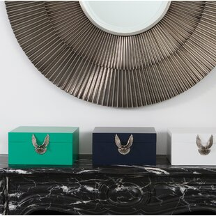Price comparison Brass Eagle Box ByDarby Home Co