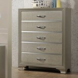 Plumlee Wooden 5 Drawer Chest by House of Hampton®