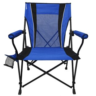 Freeport Park Chyna Dual Lock Hard Folding Camping Chair