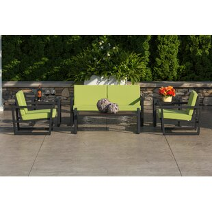 Vero 6 Piece Sunbrella Loveseat Set with Cushions