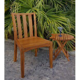 Chic Teak Boston Teak Patio Dining Chair