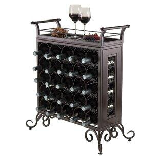 Silvano 25 Bottle Floor Wine Rack by Luxury Home