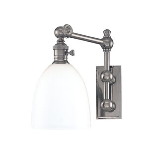 Best Reviews Bruna Swing Arm Lamp By Darby Home Co