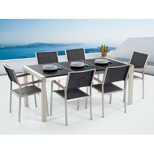 Korolevu 6 Seater Dining Set By Sol 72 Outdoor