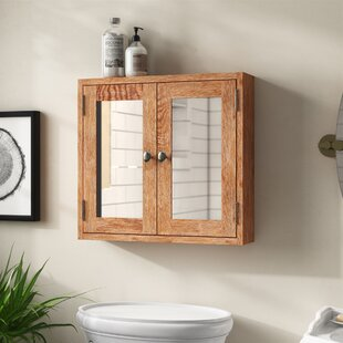 Hatcher 60cm X 50cm Surface Mount Flat Mirror Cabinet By Gracie Oaks