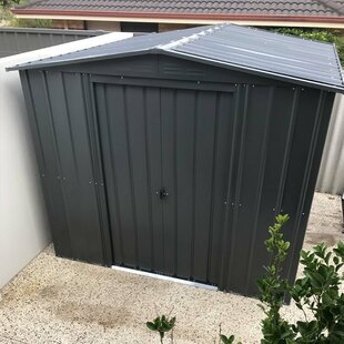 8 Ft. W X 3 Ft. D Apex Metal Shed By WFX Utility
