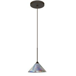Kona 1 Integrated Bulb Mini Pendant by Besa Lighting