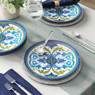 Filion Melamine Dinner Plate (Set of 6)