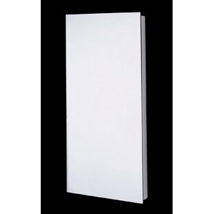 Reviews Law Edge Mirror Door 52 x 18 Recessed Frameless Medicine Cabinet with 7 Adjustable Shelves By Latitude Run