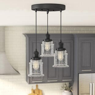 Greeley 3-Light Cluster Pendant by Laurel Foundry Modern Farmhouse
