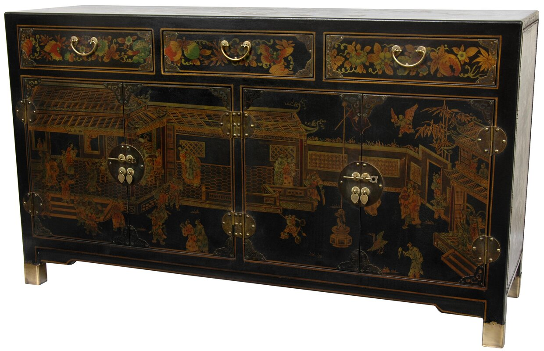 default_name - Oriental Furniture Large Sideboard & Reviews Wayfair