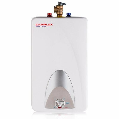 4 Gallon Electric Storage Tank Water Heater Camplux