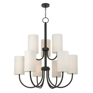 Darby Home Co Delphi 9-Light Shaded Chandelier