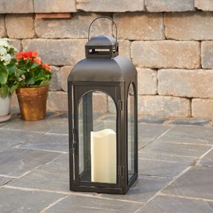Best Price Moreno Lantern with LED Candle By Smart Living