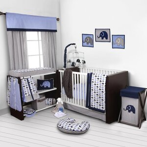 Yasmeen 9 Piece Crib Bedding Set