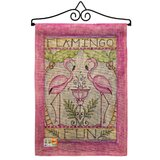Flamingo Garden Flag Wayfair
