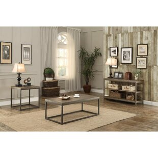Islip 3 Piece Coffee Table Set Gracie Oaks