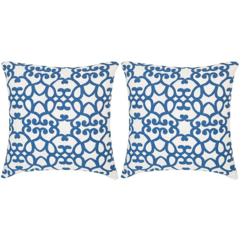 Safavieh Mallorca Linen Throw Pillow Wayfair