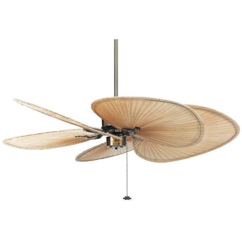 Fanimation 52 islander 5 blade ceiling fan reviews wayfair 52 islander 5 blade ceiling fan aloadofball Images