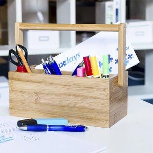 Estelle Home Table Desk Organiser By Alpen Home