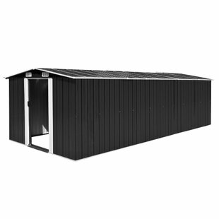 8 Ft. W X 20 Ft. D Apex Metal Shed By WFX Utility