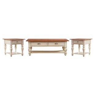 Alcott Hill Balhi 3 Piece Coffee Table Set