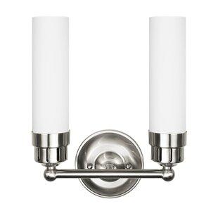 Pothier 2-Light Vanity Light by Charlton Home