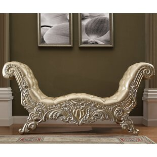 Digregorio Faux Leather Bench by Astoria Grand