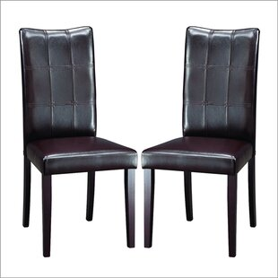Calla Upholstered Dining Chair (Set of 2) by Latitude Run