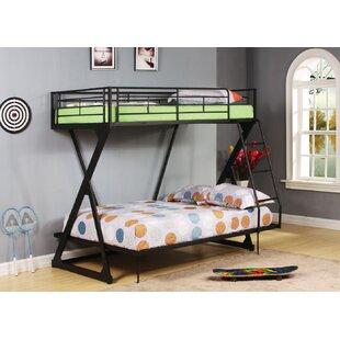 Deslauriers Metal Twin over Full Bunk Bed