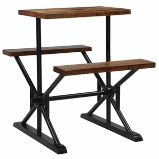 Penwortham Dining Set 2 Benches By Williston Forge