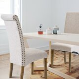 Naseem Linen Upholstered Parsons Chair (Set of 2) by Gracie Oaks