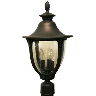 Savings Phillipstown 3 Light Post Lantern By Alcott Hill