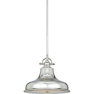 Eden 1-Light Bell Pendant ..