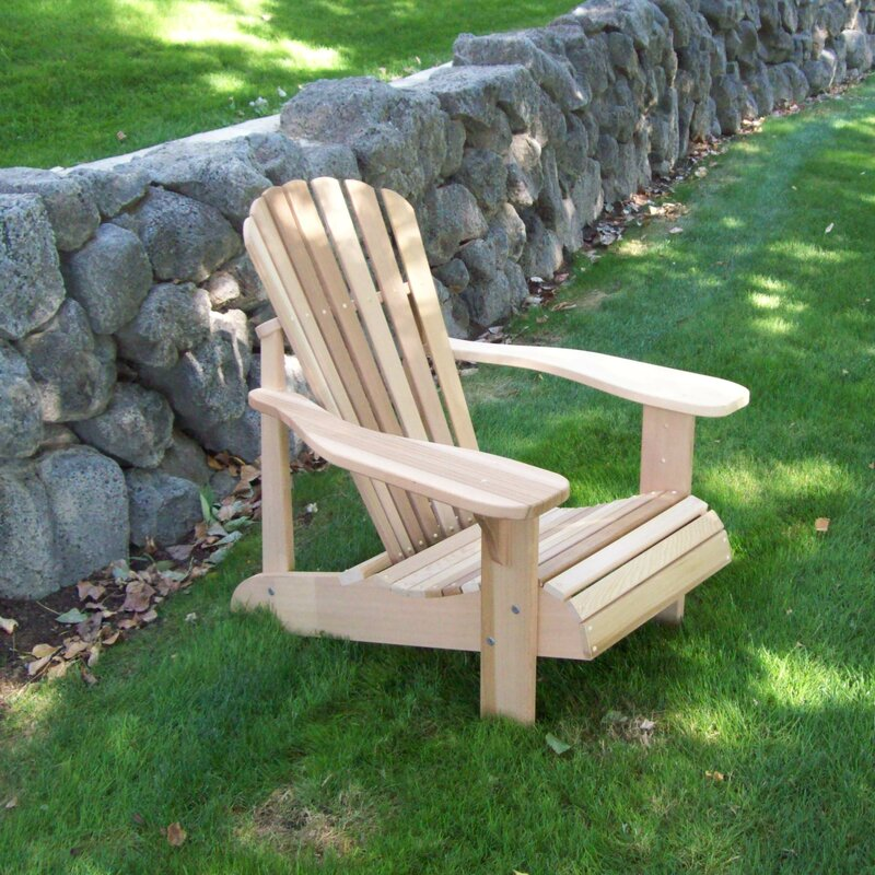 Tu0026L Solid Wood Adirondack Chair